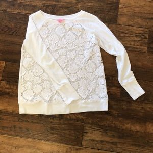 Lily Pulitzer Ling Sleeve Shirt